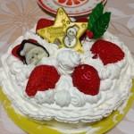 糖質制限スポンジケーキレシピは大豆粉で。クリスマスケーキを手作り
