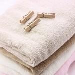 タオルを洗っても臭いのは?赤くなるのや硬くなるのを戻すには?